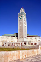 Photo: My tour starts - Travel Link Morroco - the Hassan II mosque in Casablanca