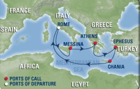Royal Caribbean, Navigator of the Seas, Easter Mediterranean, Rome