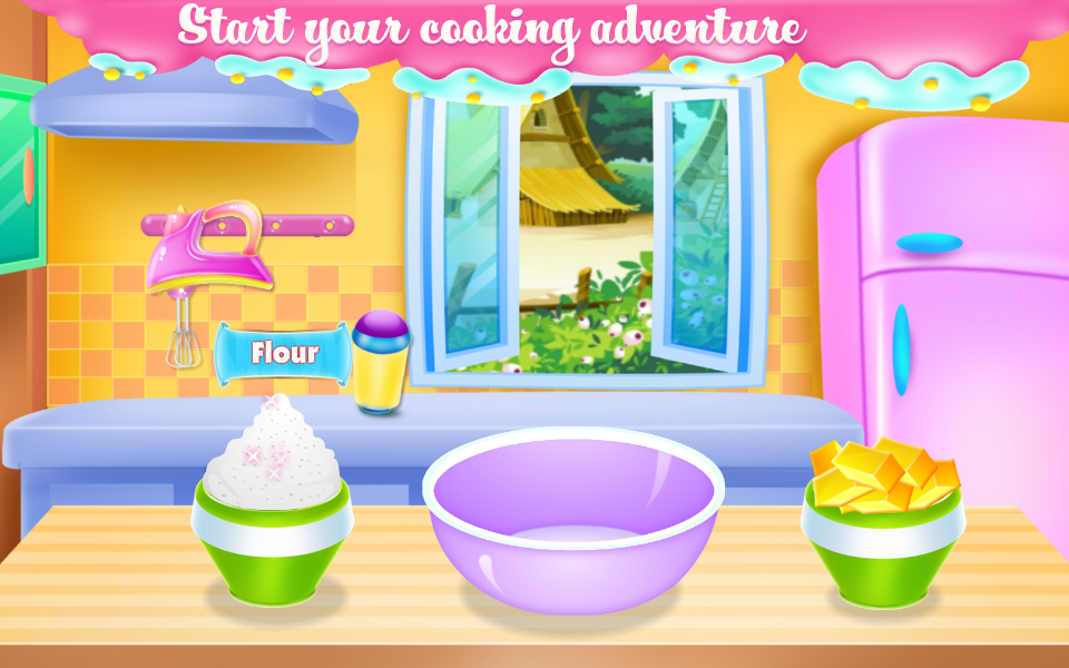 Fantasy Ice Cream Land- screenshot