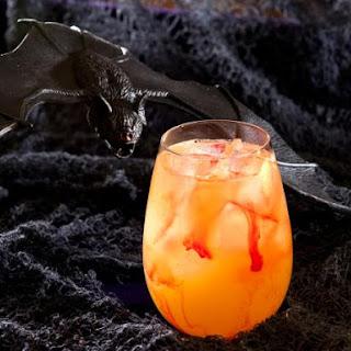 Blood Sucker Halloween Cocktail.