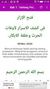 KITAB FATHUL IZZAR & TERJEMAHAN - náhled