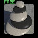 3D Zen Stones Live Wallpaper Free icon