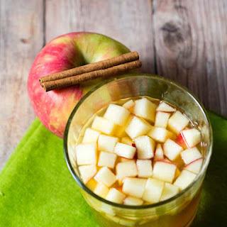 Cinnamon Apple Cider Sangria.