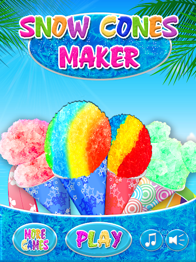 Snow Cones Maker Games FREE