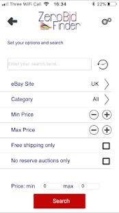 Zero Bid Finder for eBay - Sniper Tool