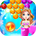 Mermaid Ocean Bubble Shooter icon