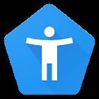 Conj. acessibilidade Android icon