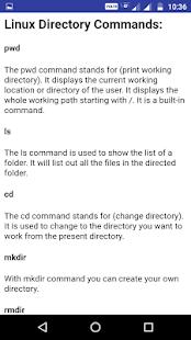 Advance Linux tutorial - náhled