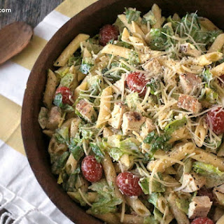 Pasta Caesar Dressing Chicken Recipes