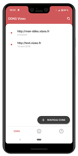 DDNS Vizeo screenshot 2