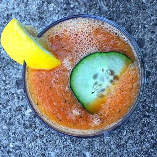 Tropical Papaya Smoothie.