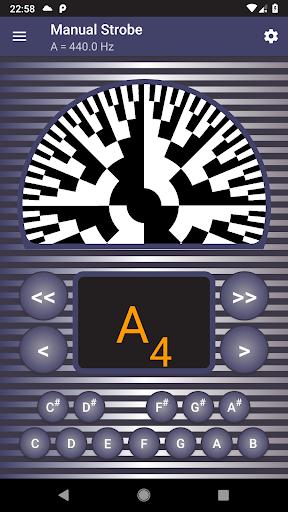 Strobe Guitar Tuner Pro screenshot 3