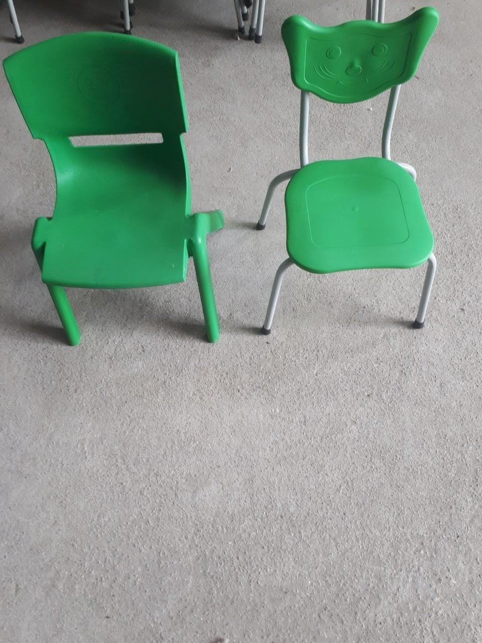 Bộ ghế mèo ghế đúc