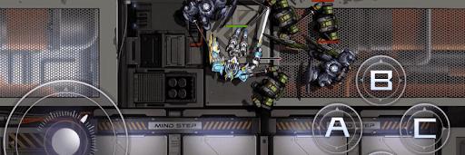 模擬作戦の戦闘画面