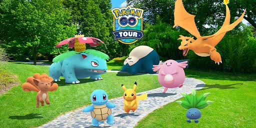 [官方活動]在「Pokemon GO Tour:關都地區」活動中慶祝寶可夢的25週年吧!