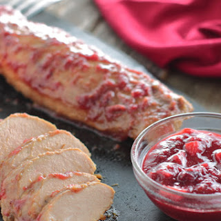 Cranberry Glazed Pork Tenderloin