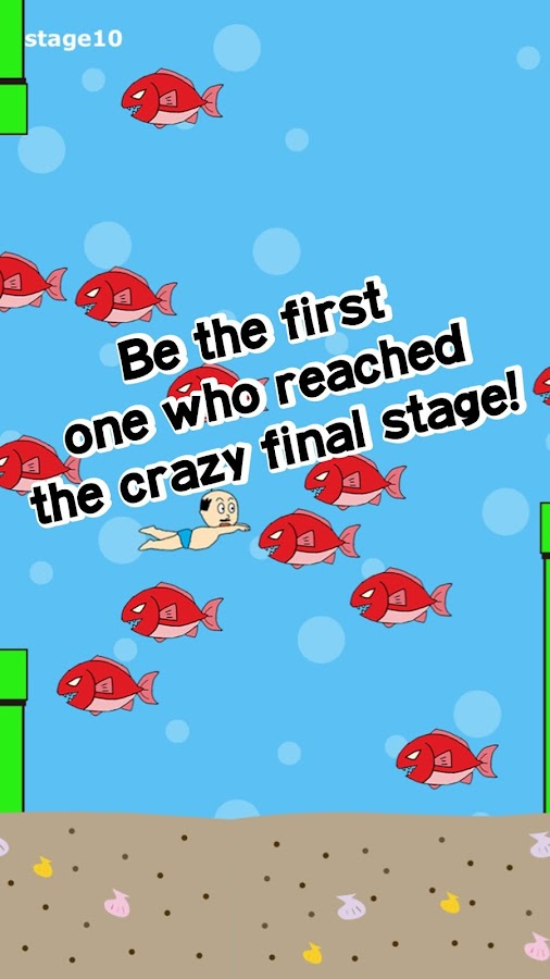 Mr.Swimmer - free action games- screenshot
