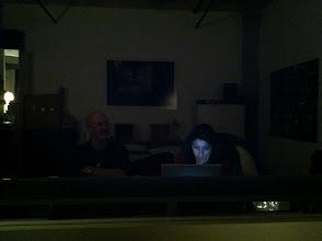 Photo: Working..