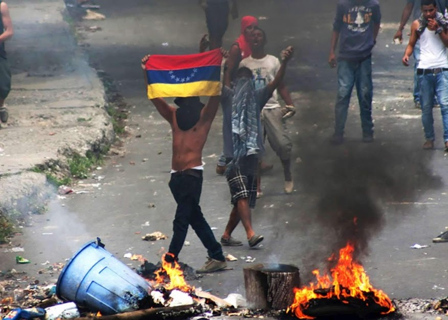 Scontri in Venezuela
