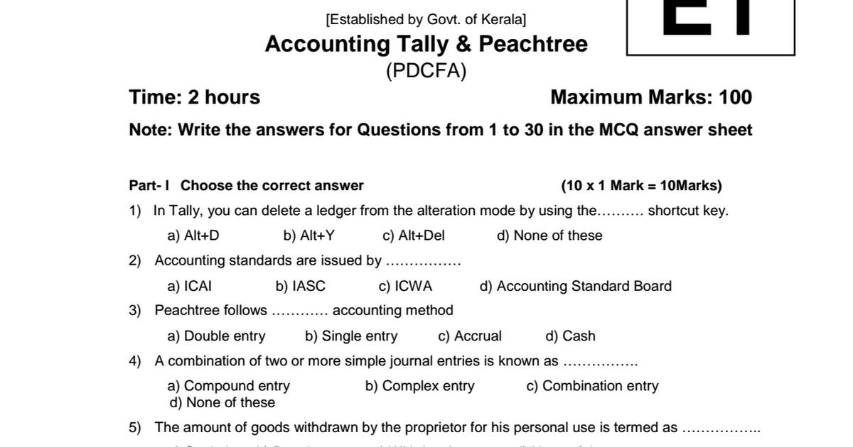 Accounting tally peachtree, PDCFA pdf - Google Drive