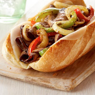 Italian Cheesesteak Sandwiches