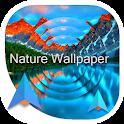 Natural wallpaper icon