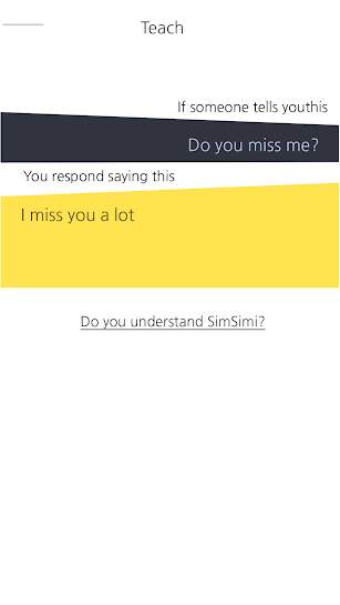 SimSimi screenshot for Android