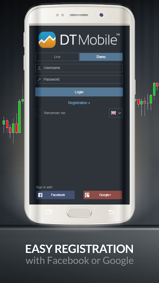 DTMobile - Forex, Shares, Gold- screenshot