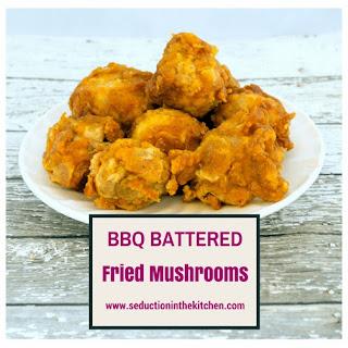 BBQ Battered Fried Mushrooms.