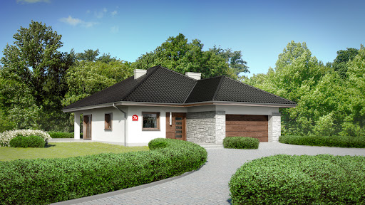 projekt Dom przy Pastelowej 7 bis