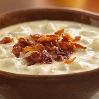 Cheesy Potato Soup No Milk Recipes.