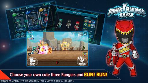 Power Rangers Dash (Asia) 1.6.4 screenshots 1