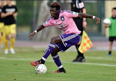 Anderlecht: N'Sakala fait son retour chez les espoirs