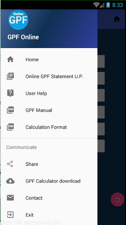 GPF Online Statement – (Android Apps) — AppAgg