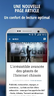 La Tribune- screenshot thumbnail
