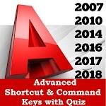 AutoCAD Shortcuts Keys 3D & 2D Commands Icon
