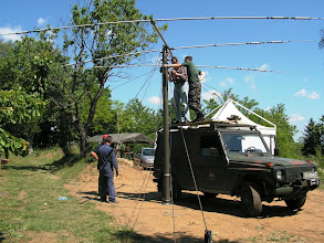 Photo: Pritrjevanje antene 1