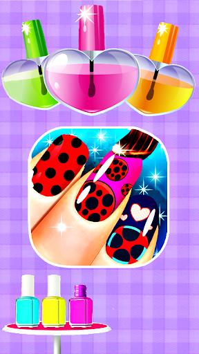 Fashion Ladybug Nail Salon screenshots 3