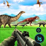 Dinosaurs Hunter Wild Jungle Animals Safari Icon