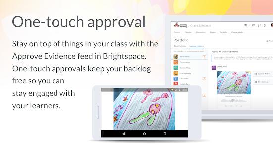 Brightspace Portfolio - náhled