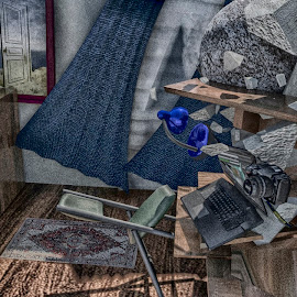 Demolishing my Room in 3ds Max by Andrius La Rotta Esquivel - Illustration Places ( 3ds max, awesome, digital art, design, render )