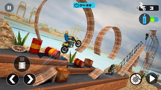 Tricky Bike Stunt Race 3d Racing - New Bike Games 2.0 screenshots 2