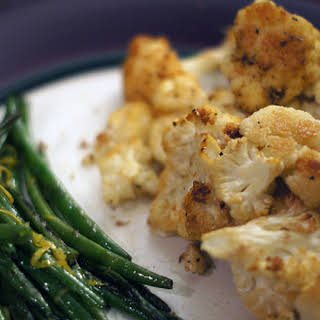 Roasted Cauliflower.