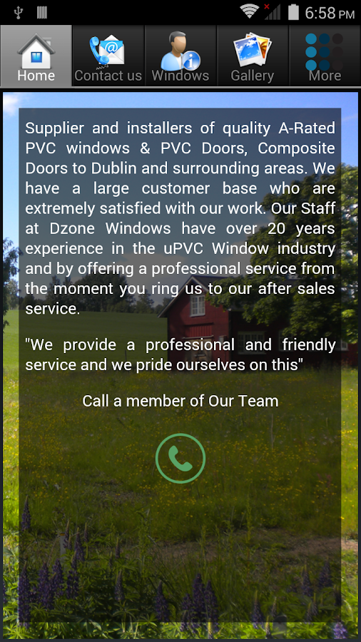 Dzone Windows & Doors Dublin- screenshot