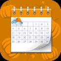 تقویم فارسی و پیش بینی آب و هوا icon