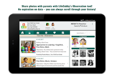 LifeCubby Classroom- screenshot thumbnail