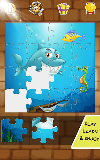 54 Animal Jigsaw Puzzles for Kids 🦀 1.2.0 screenshots 1
