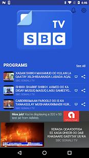 SBC Somali TV - náhled