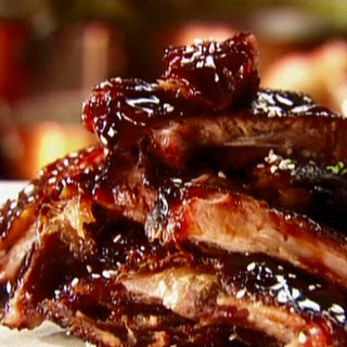 Barbecue Ribs in the Crock Pot.