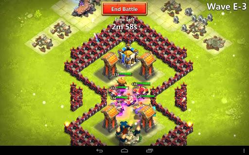 Win without money Castle Clash